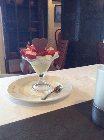 Restaurante El Muelle: my dessert wow!!