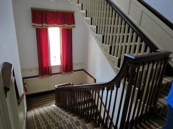 Hampton National Historic Site: Main staircase