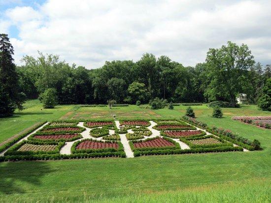 Hampton National Historic Site: Formal gardens