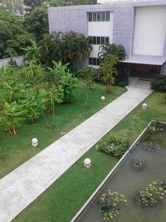 The Natural Resort: Вид с балкона