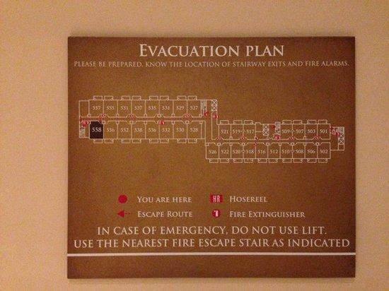 Resorts World Sentosa - Equarius Hotel: Hotel Floor plan