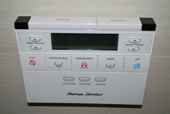 Mandarin Hotel Managed by Centre Point: computer da bagno (wc & bidet insieme)