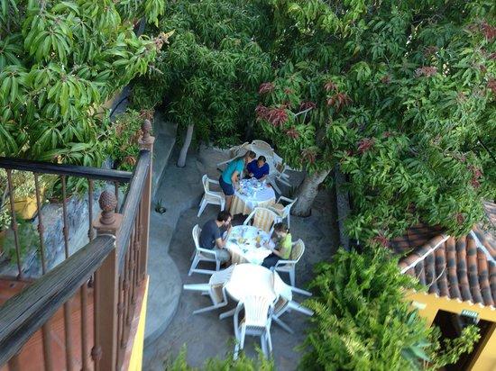 Hotel Jardin Concha: El desayuno en el Jardin