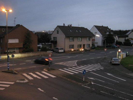 Akazienhof Hotel & Brauhaus: из окна