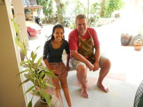 Ying's Thai Cooking Class: Ying`s geniales lachen und ich