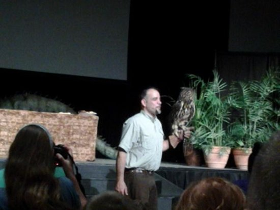 Creation Museum: Dan the animal man
