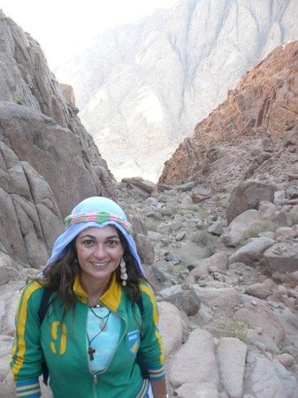 """Mount Sinai: The steeper, more direct route to and back from Mt  Sinai, is 3,750 """"steps of penitence"""""""
