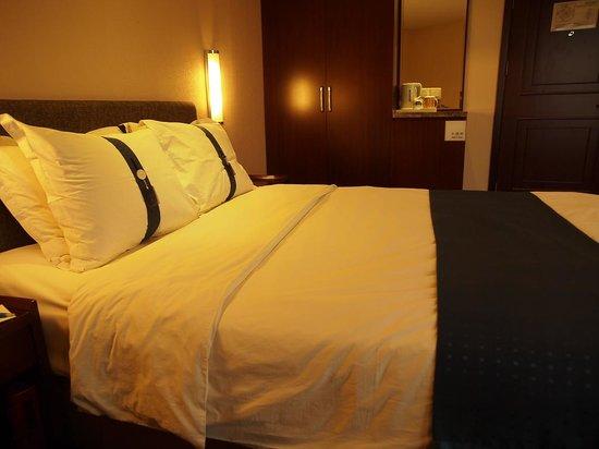 Holiday Inn Express Tianjin City Center: 枕頭有分軟和硬的!
