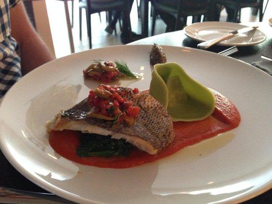 St. Moritz Hotel: My husbands dinner