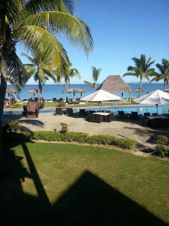 Wyndham Resort Denarau Island: View from our Balcony