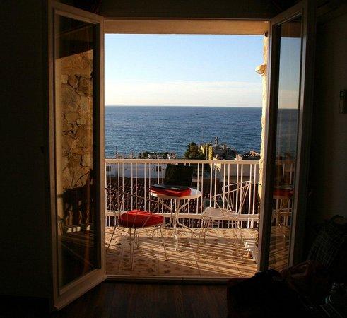 Hotel Roger de Flor Palace: Балкончик