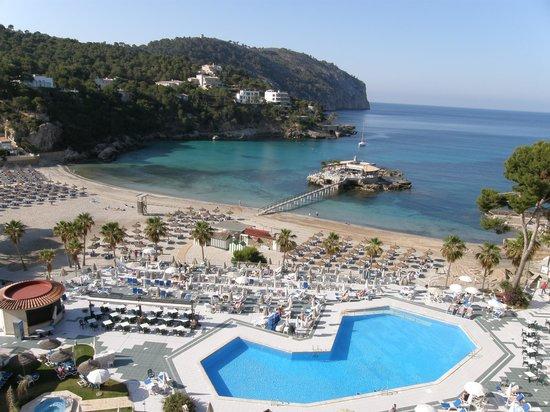 Grupotel Playa Camp de Mar: view from room 632