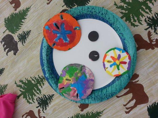 Camp Gulf: Activity Center crafts