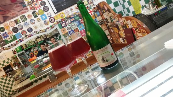 Europizza Major: Good beer... cantillon