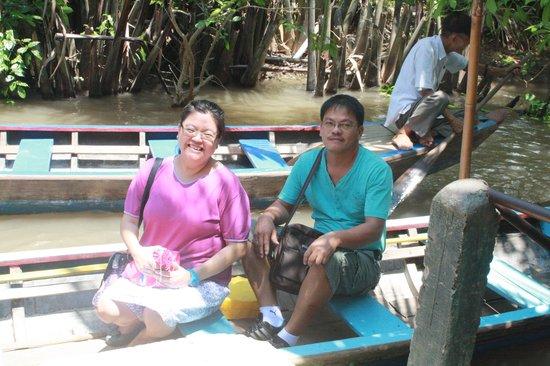 Queen Ann Hotel: Mekong Delta Boat ride