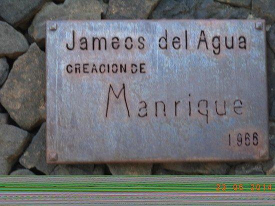 Jameos Del Agua: bij huis van