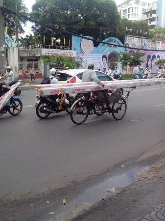 Queen Ann Hotel : cyclo