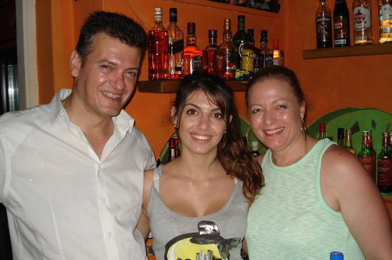 Love Boat Bar: fanis, joanne and anna. thanks we had a great time.