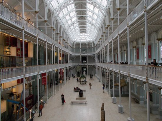 Museo Nacional de Escocia: The main hall (World displays)
