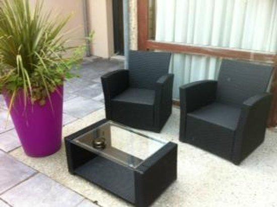 La Cremaillere: terrasse privée