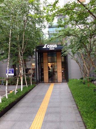 Hotel La Casa : entrance