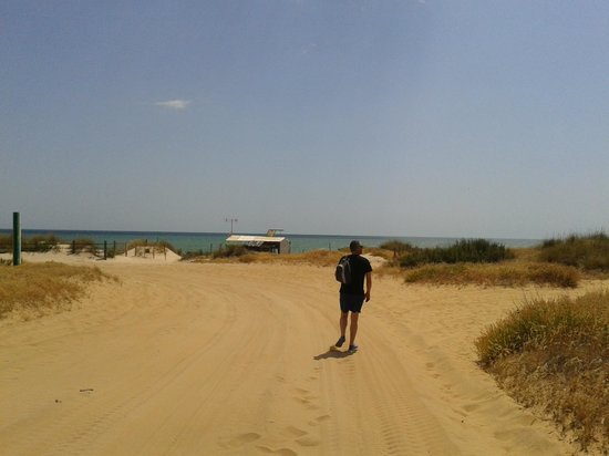 Gran Hotel del Coto: playa de matalascañas