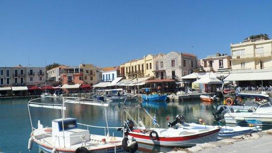 Aquila Porto Rethymno Hotel : Old harbour