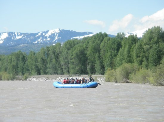 Dave Hansen Whitewater and Scenic River Trips : Just floating