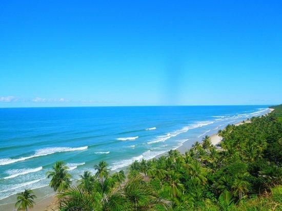Itacarezinho Beach : praia de Itacarezinho vista de cima (trilha de carro)