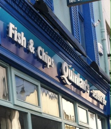 Quinlans Seafood Bar: Killarney town centre