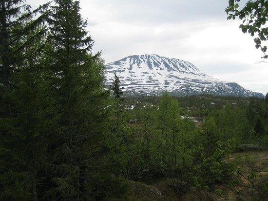 Kvitaavatn Fjellstue: View from Odd Eliassens Hus