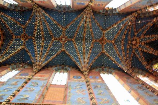 Church of the Virgin Mary (Kosciol Mariacki): The roof of the church