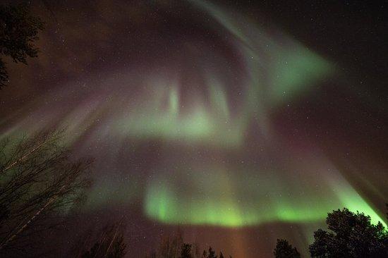 Nellim Wilderness Hotel : Aurora Borealis