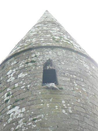 Rock of Cashel: Particolare della torre circolare