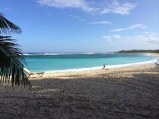 Shandrani Beachcomber Resort & Spa All Inclusive : Wunderschöner Strand