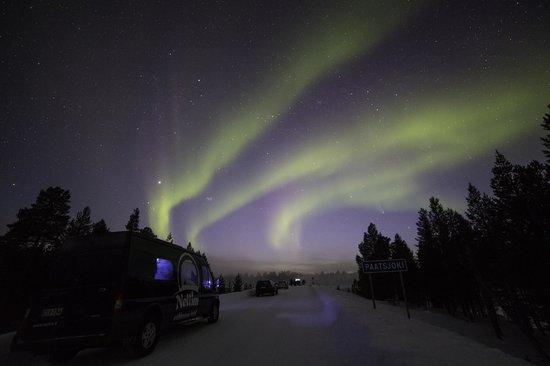 Nellim Wilderness Hotel : Northern Lights