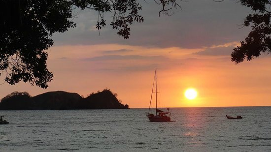 Anywhere Costa Rica - Day Tours: Playa Hermosa, our view for the week