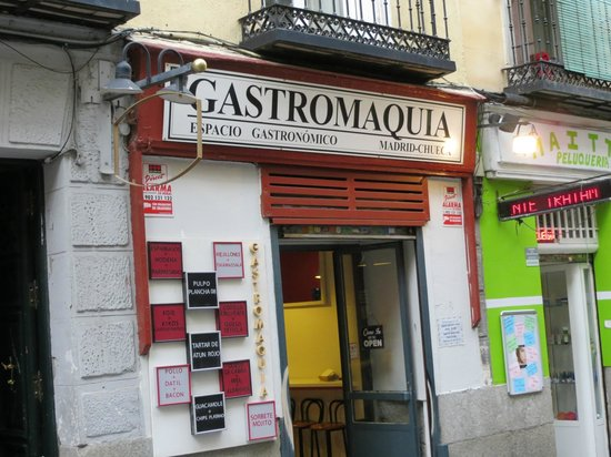 Gastromaquia's deceptive front....