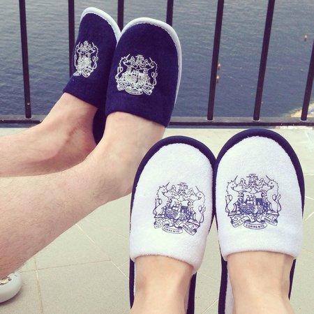 Hotel Bristol : Bristol slippers!