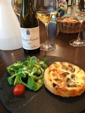 La Maison d'Olivier Leflaive: Tasting Lunch