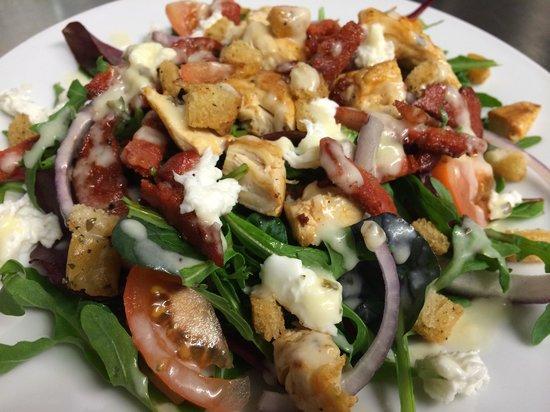 Sophie's: Chicken and chorizo salad