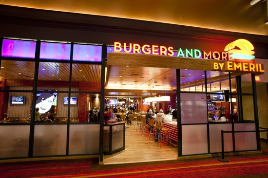 Burgers and More by Emeril: Front Entrance