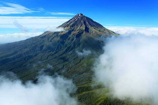 Heliview Flights: Mt Taranaki