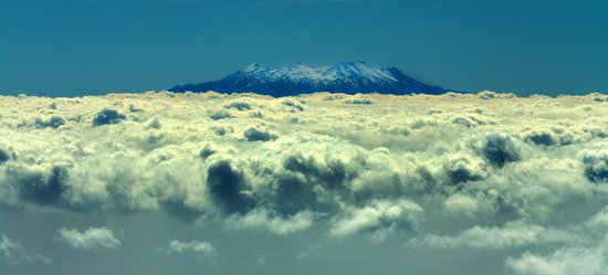 Heliview Flights: view from Mt Taranaki