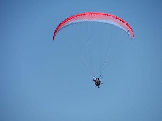 Club Belcekiz Beach Hotel : paragliding