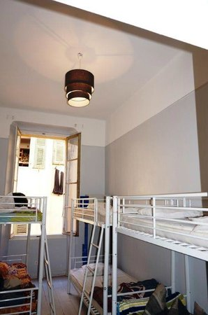 Hostel smith Plage : 6 Mixt dorm