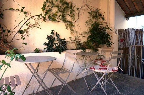 Hostel smith Plage : terrasse