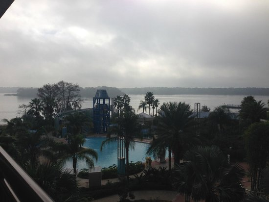 Bay Lake Tower at Disney's Contemporary Resort: View from the room