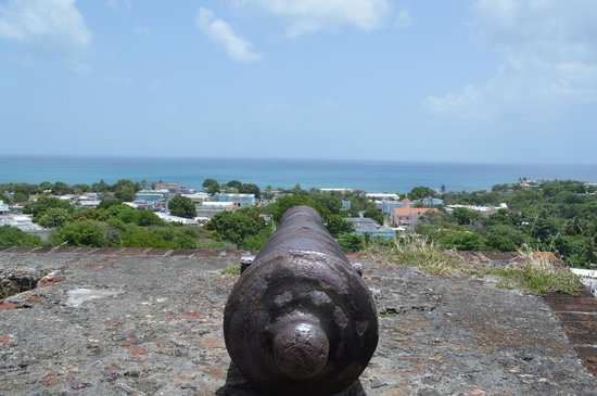 Fortin Conde de Mirasol Museum: Line up the cannon