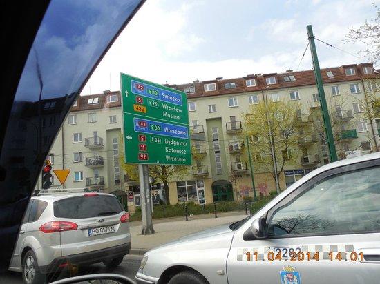 Alte Markt: Выезжаем на highway